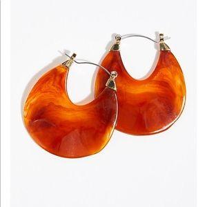 Free people Stella resin earring